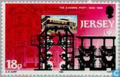 Timbres-poste - Jersey - Media