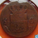 Coins - the Netherlands - Netherlands ½ cent 1826 (B)