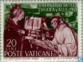 Postage Stamps - Vatican City - Bernard of Clairvaux