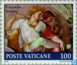 Timbres-poste - Vatican - Restauration Sixtine Chapelle