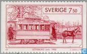 Timbres-poste - Suède [SWE] - Tramways
