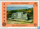 Postage Stamps - Guernsey - Europe – Monuments