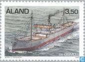 Postage Stamps - Åland Islands [ALA] - Steam Ships