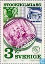 Postzegels - Zweden [SWE] - Stockholmia 86 (IV)