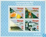 Briefmarken - Norwegen - Fischereikultur