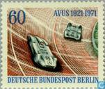 Postage Stamps - Berlin - Avus races 50 years