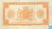 Bankbiljetten - Muntbiljet 1943 - 2,5 gulden Nederland 1943
