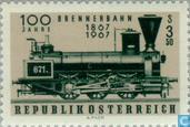 Timbres-poste - Autriche [AUT] - Brennerbahn 100 années