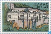 Postage Stamps - Greece - Monasteries and churches