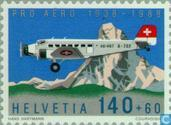Postage Stamps - Switzerland [CHE] - Pro Aero 50 years