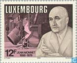 Postage Stamps - Luxembourg - Jean Monnet