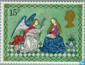 Postage Stamps - Great Britain [GBR] - Christmas-Nativity Scenes