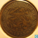 Coins - the Netherlands - Netherlands 1 cent 1925