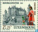 Postzegels - Luxemburg - Burchten