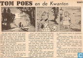 Comic Books - Bumble and Tom Puss - Tom Poes en de Kwanten