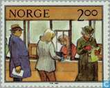 Postage Stamps - Norway - Work at the station