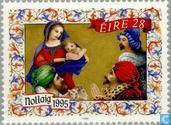 Postage Stamps - Ireland - Biblical scenes