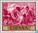 Postage Stamps - Spain [ESP] - Paintings