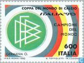 Postage Stamps - Italy [ITA] - Germany World Champion Football