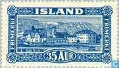 Briefmarken - Island - Faces in Island