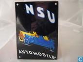 Emaille Reklamebord : NSU