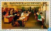 Postzegels - Guernsey - Zelfstandige postdienst 1969-1979