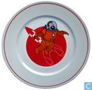 Keramik - Tim und Struppi - Reiseziel Mond:Teller