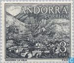 Postage Stamps - Andorra - Spanish - Local motives
