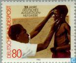 Postzegels - Duitsland, Bondsrepubliek [DEU] - Artsenhulp in buitenland 1957-1982