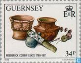 Postage Stamps - Guernsey - Corbin, Frederick 200 years