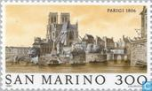 Postage Stamps - San Marino - Famous world-Paris