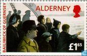 Postage Stamps - Alderney - Return to Alderney