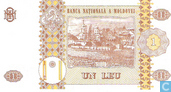 Bankbiljetten - Banca Nationala a Moldovei - Moldavië 1 Leu