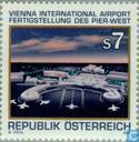 Postzegels - Oostenrijk [AUT] - Luchthaven Wenen