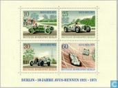 Timbres-poste - Berlin - courses Avus 50 années