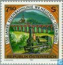 Railwa Wiener Neustadt-Odenburg 150 years