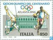 Postage Stamps - Italy [ITA] - Olympic Games- Atlanta