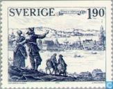 Timbres-poste - Suède [SWE] - Jönköping anno 1284