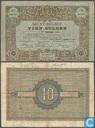 Bankbiljetten - Muntbiljet 1878 - 10 Gulden Nederland 1878