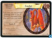 Trading cards - Harry Potter 5) Chamber of Secrets - Fawkes