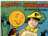 Strips - Duppie's avonturen - De knipperbollen...