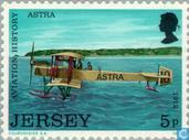 Timbres-poste - Jersey - Aviation