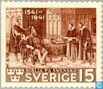 Postage Stamps - Sweden [SWE] - 400 years Bible in Swedish