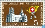 Postage Stamps - Switzerland [CHE] - Lausanne Cathedral