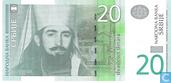 Serbien 20 Dinara