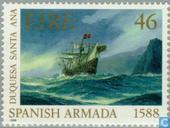 Postzegels - Ierland - Spaanse armada
