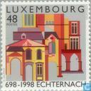 Timbres-poste - Luxembourg - L'abbaye d'Echternach 1300 années