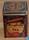 Blikken en trommels - Sandersons - English Breakfast tea
