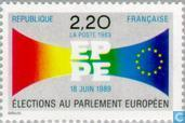 Postage Stamps - France [FRA] - European Parliament Elections