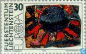 Postage Stamps - Liechtenstein - Europe – Paintings
